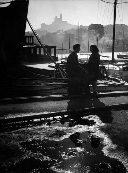 Willy Ronis - Vieux port, Marseille, 1947.