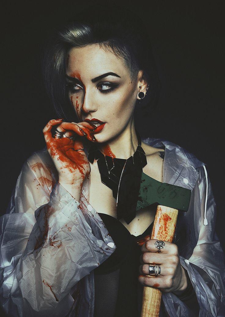 Sara Vill (svfotografias) - Naiara Blánquez (NaiaraNebulosa) - mua is model - light Juan Trujillo Photography