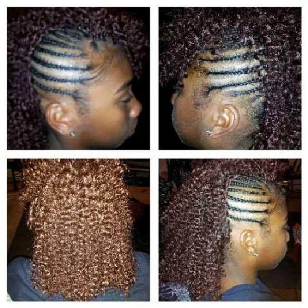 Crochet Hair Pinterest : Crochet Braids (fohawk) Natural Hair Pinterest