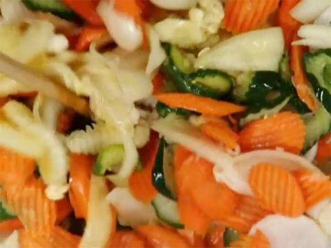Alemania: Unos pickles distintos , receta Narda Lepes.