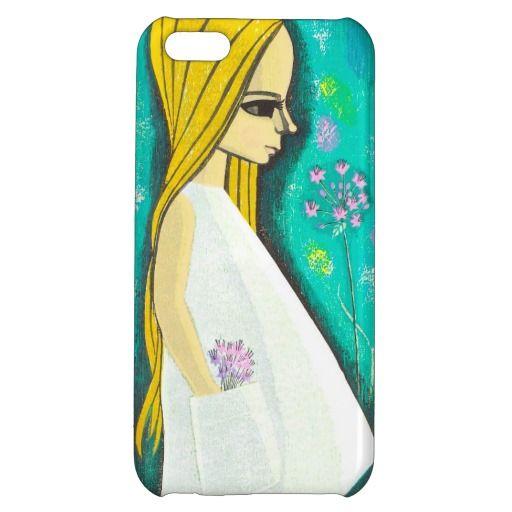 Pocket Ikeda Shuzo cute kawaii japanese girl art iPhone 5C Case