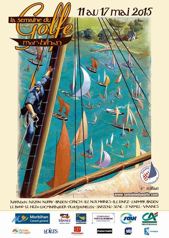 2015 à ne rater sous aucun prétexte!! La Semaine du Golfe du #Morbihan, #Bretagne. Evenement nautique du 11 au 17 mai 2015