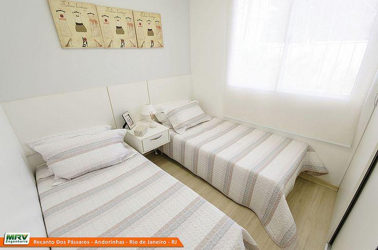 Apartamento Decorado do Recanto dos Passáros, no bairro Andorinhas - Rio de Janeiro - RJ - MRV Engenharia - Quarto Crianças.