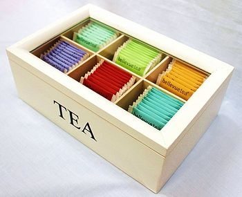 I need this. Right now all of my tea is piled in a cup we don't use in our cupboard...