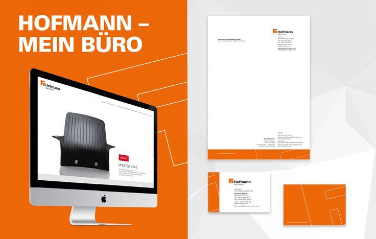 Corporate Design Relaunch für Hofmann Büroorganisation