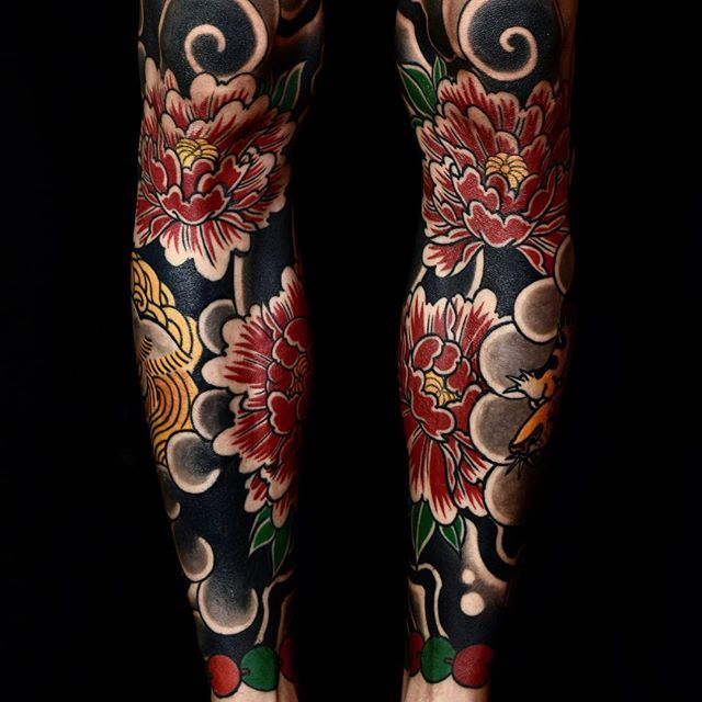 Got Some Healed Shots Of Brandon S Legs Bodysuits Japanesetattoo Feathercloud Shanetan Tattoo Japanese Tattoo Japanese Tattoo Art Tattoos