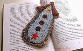 Zakładka do książki (A bookmark) - Tildowy domek | Szmacianki Wioli