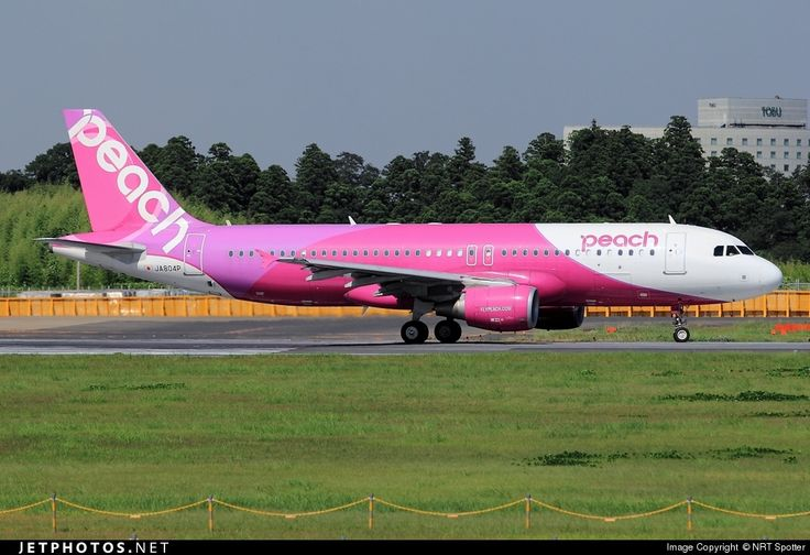 High quality photo of JA804P (CN: 5166) Peach Aviation Airbus A320-214 by NRT Spotter