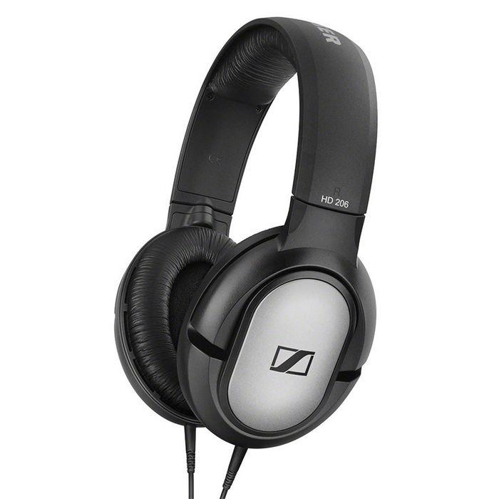 重低音入耳式_Sennheiser森海塞尔 HD206 头戴式重低音耳机,专业录音监听 ...
