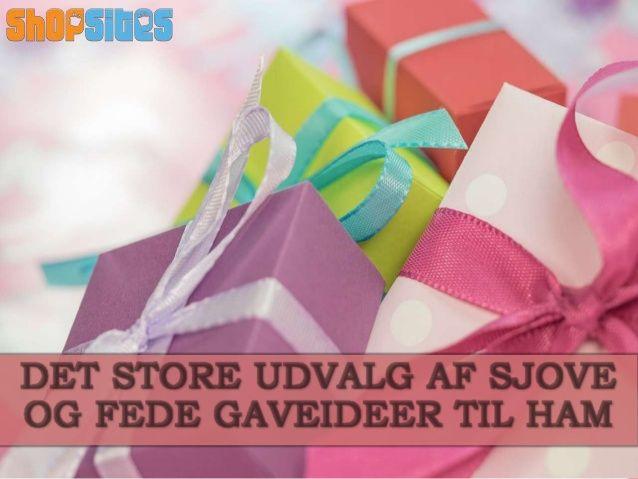 Forskellige #gaveideer til ham som kan bruges   Shopsites.dk