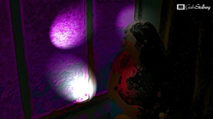 DESASOSIEGO (Esa hora fantasmal antes del amanecer)  #ilustracion #reflexiones