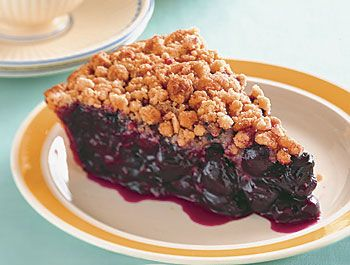 Sour-Cherry Streusel Pie | Epicurious.com