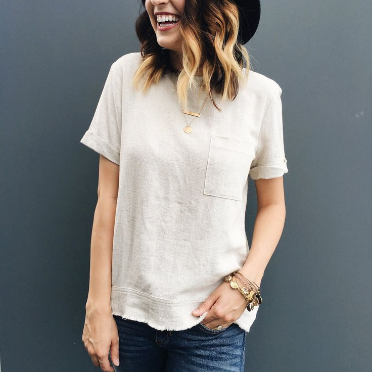 Linen Pocket Blouse || ROOLEE