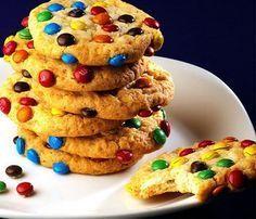 Tati Manila: Американское печенье с M&M's