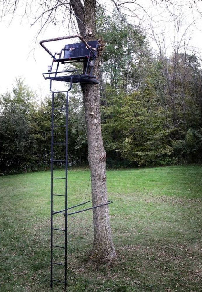 Deer Hunting Ladderstand Tree Stand Portable 2 Person Outdoor Climbing Big Game Xstand Outdoor Climbing Outdoor Tree Stand