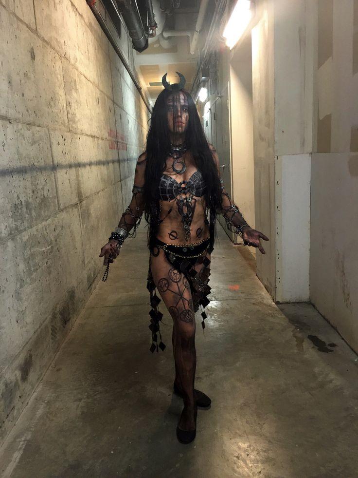 Suicide Squad Enchantress cosplay costume