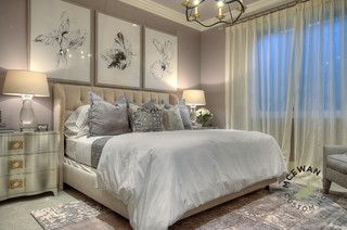 """Benjamin Moore Elephant Gray- if you want a hint of purple without screaming """"purple!"""""""