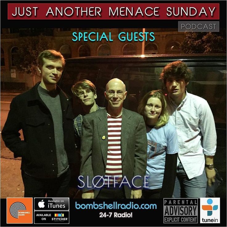 Today The Menace's Attic/Just Another Menace Sunday #interview w/ Sløtface 6pm-8pm EST Bombshell Radio bombshellradio.com Bombshell Radio Repeats Friday  6am-8am EST #BombshellRadio #melodicrock #radioshow #rock #alternative #justanothermenacesunday #dj #DennistheMenace #radioreplay #today #Sløtface  Theme Song Just Another Menace Sunday Theme (Dennis The Menace) - Mighty Six Ninety Hour 1 A DTM CONVERSATION WITH SLøTFACE AND THEIR MUSICAL SANDWICH OPENING SONG: Take Me Dancing  Sløtface…
