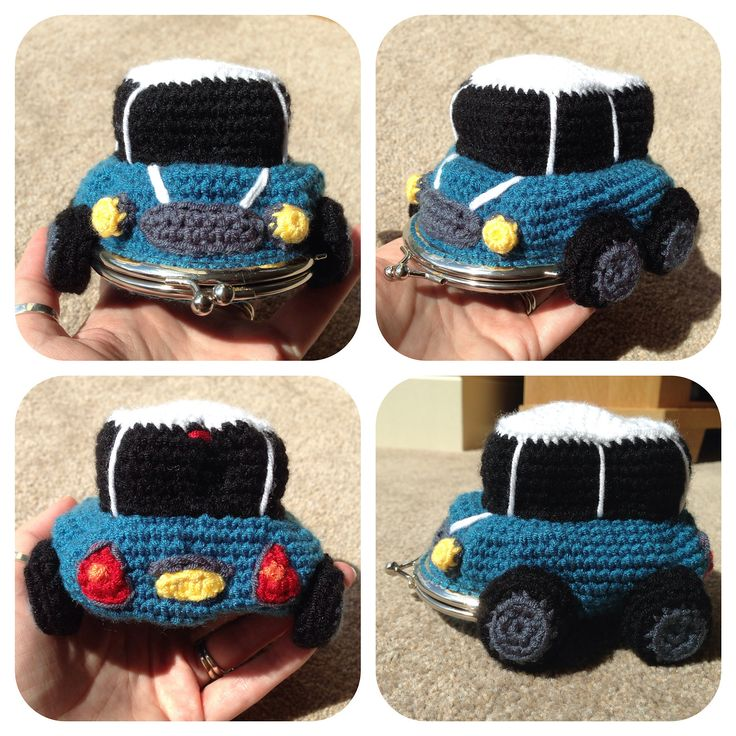 Ravelry: MINI Car Coin Purse by Laura Sutcliffe