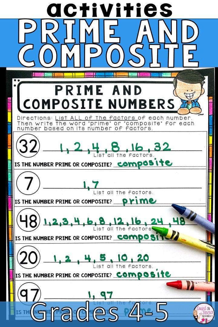 29 Factors Multiples And Primes Worksheet Factors Of A Number Worksheet Upstatemedicalunive Factors And Multiples Math Worksheets Math