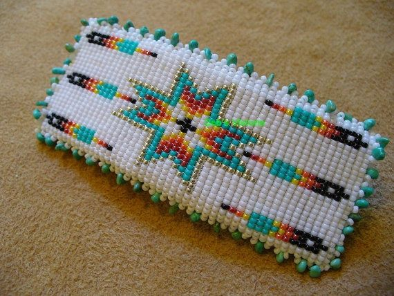 Native American Seed Bead Patterns | Blessings Barrette | beading