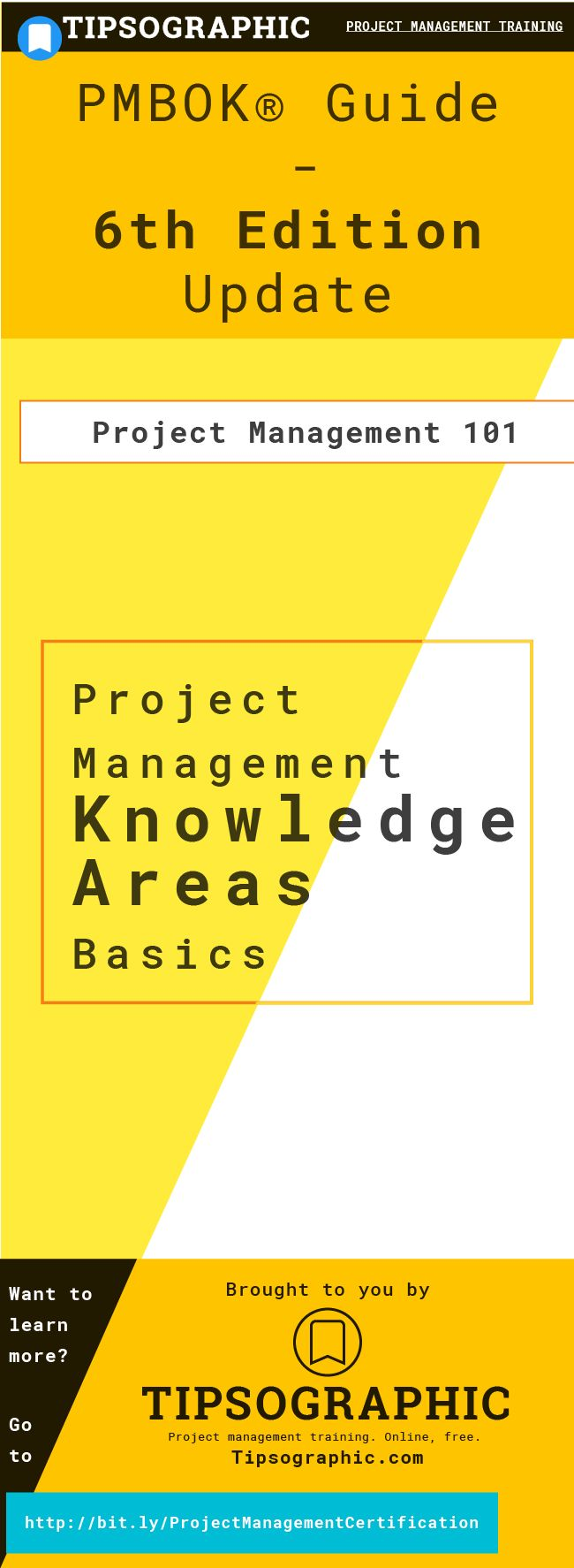 Best 25 project management certification online ideas on pmp certification project management knowledge areas 101pmbok guide 6th edition update part 1 xflitez Choice Image