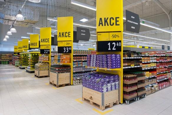 Supermarket Design | Promotional Ends | Promo End Fixture | Albert Concept Store