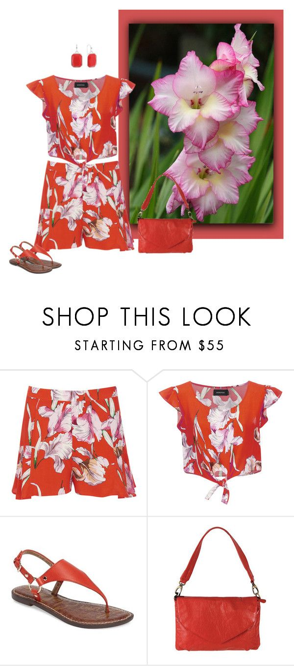 """""""Untitled #7726"""" by msdanasue ❤ liked on Polyvore featuring MINKPINK, Sam Edelman, Latico and Liz Claiborne"""