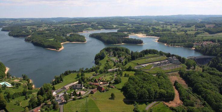 Lac de St Etienne Cantalès © Mairie St Etienne Cantalès