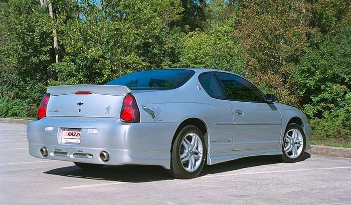 2000 2005 Chevy Monte Carlo 2dr Razzi Ground Effects Body Kit Chevy Monte Carlo Monte Carlo Chevrolet Monte Carlo