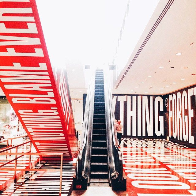 Belief + Doubt = Sanity #DC #washingtonDC #iphoneonly #barbarakruger #hirshhorn