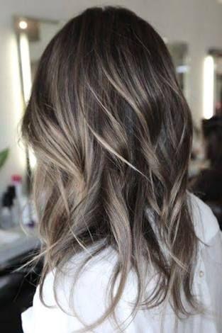 123ff31e88900d755c1f33941bc98329  dark brown hair with ash blonde highlights blending gray hair dark brown - Awesome Blonde Highlight Hair