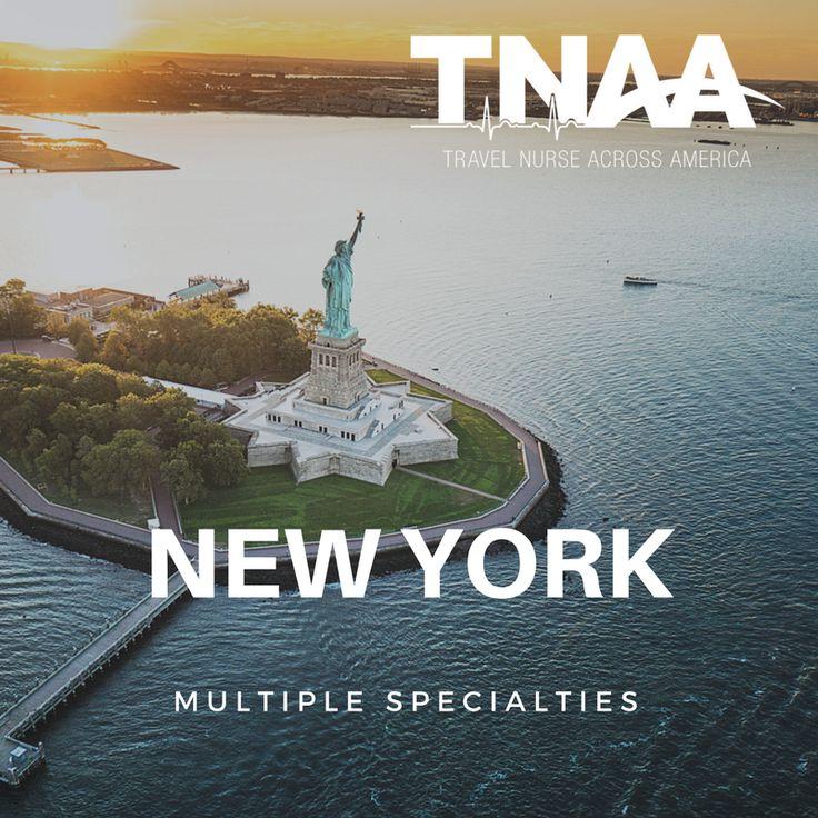 Travel Nursing Jobs in New York