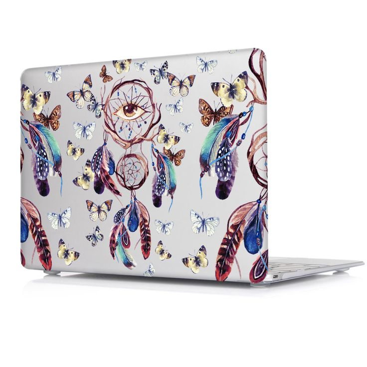 2016 Colorful Nice Fashion Color Print Cover Sleeve Case For Apple Macbook Pro Retina 13 12 15 Air 11 Dream Catcher Pattern