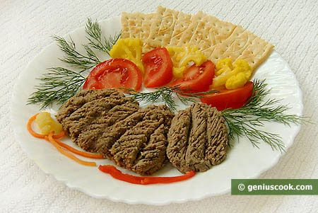 Chicken Liver Paste with Capers | Dietary Cookery | Genius cook - Healthy Nutrition, Tasty Food, Simple Recipes