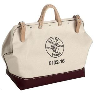 16 in. Canvas Tool Bag-5102-16 at The Home Depot