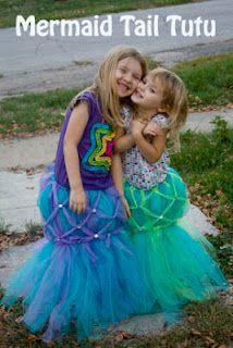 Life with Moore Babies: DIY Mermaid Tail Tutu