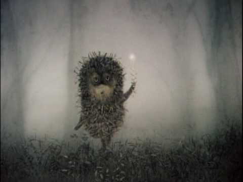 Hedgehog in the Fog by Sergey Kozlov, Yuriy Norshteyn, Francesca Yarbusova (Illustrator). The book is based on Francesca Yarbusova's sketches to the award-winning animated film directed by Yuri Norstein.
