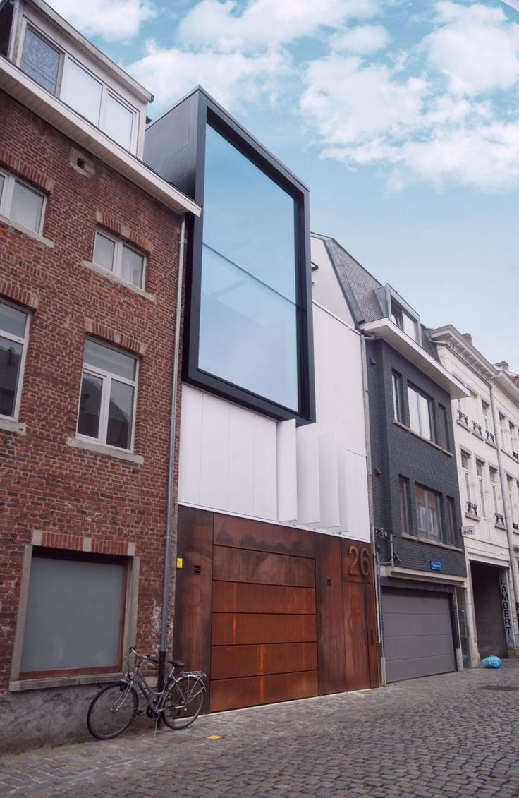 Blanco Architecten Design a Luminous Contemporary Home in Leuven, Belgium