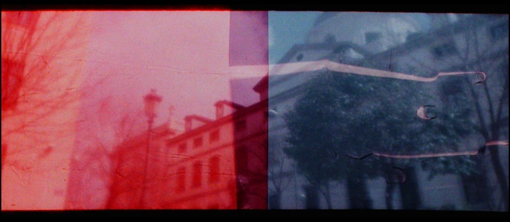 Red and Blue Mask on the LomoKino