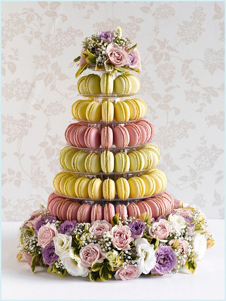 macaroon cake stand - photo #25