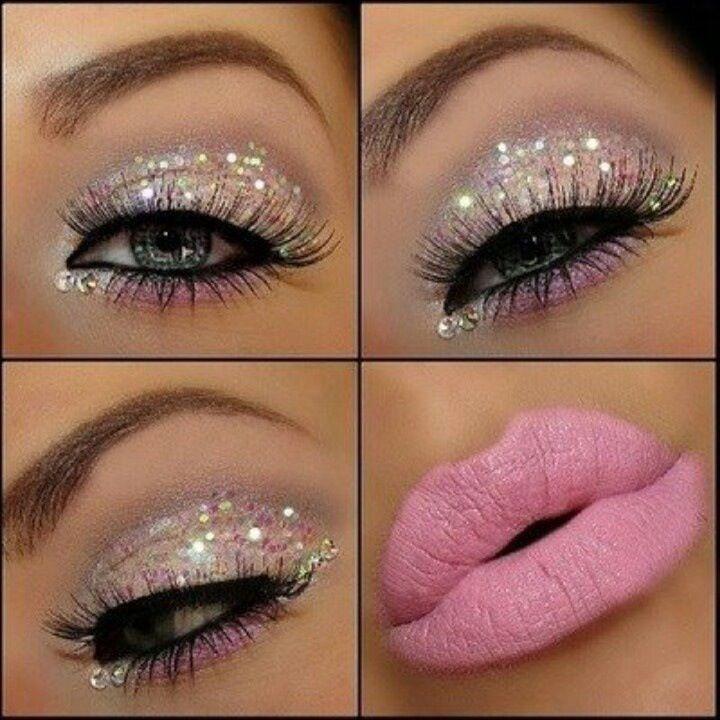 Beautiful Sparkle & Pink Lip