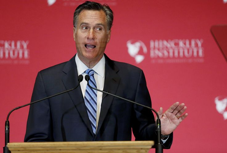"""""""He thinks Trump is this vulgar, dangerous, principle-less, value-less opportunist,"""" said one adviser to Mitt Romney, the 2012 Republican nominee for president."""