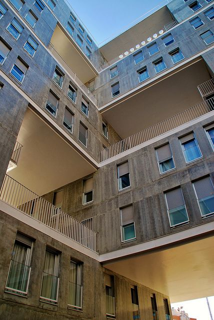 Celosia Building - Madrid, Spain;  designed by MVRDV and B. LLeó;  photo by javier1949, via Flickr