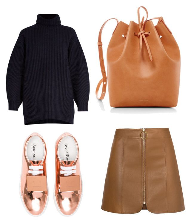 """True colors"" by anita-wonderlight on Polyvore featuring мода, Acne Studios и Mansur Gavriel"