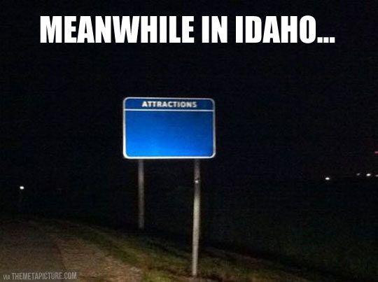 Idaho's attractions...