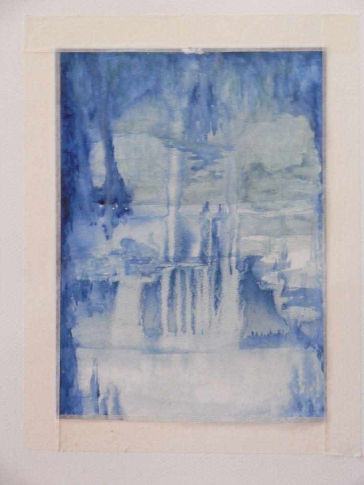 Discovering Atlantis watercolour