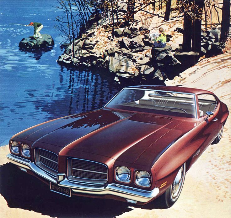 1971 Pontiac LeMans T-37 Hardtop Coupe -'Fly Fishing': Art Fitzpatrick and Van Kaufman
