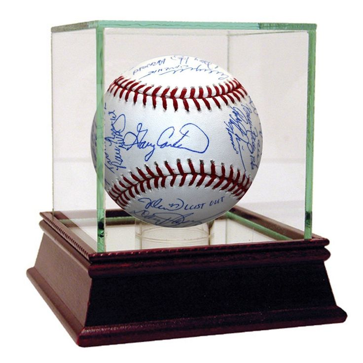 1986 New York Mets Team Signed MLB Baseball (24 Sigs)