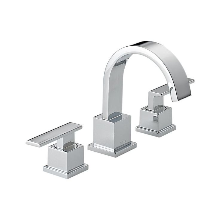 3553LF Vero Two Handle Widespread Lavatory Faucet : Bath Products : Delta Faucet down full bath faucets, upstairs ensuite bath swell